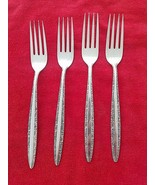 Set of 4 Candleglow Silverplate by Towle Dinner Forks (#1500) - $28.00