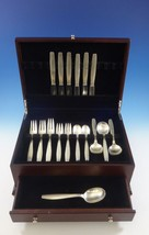 Swedish Modern by Allan Adler Sterling Silver Flatware Set Hand Wrought 31 Pcs - $5,557.50