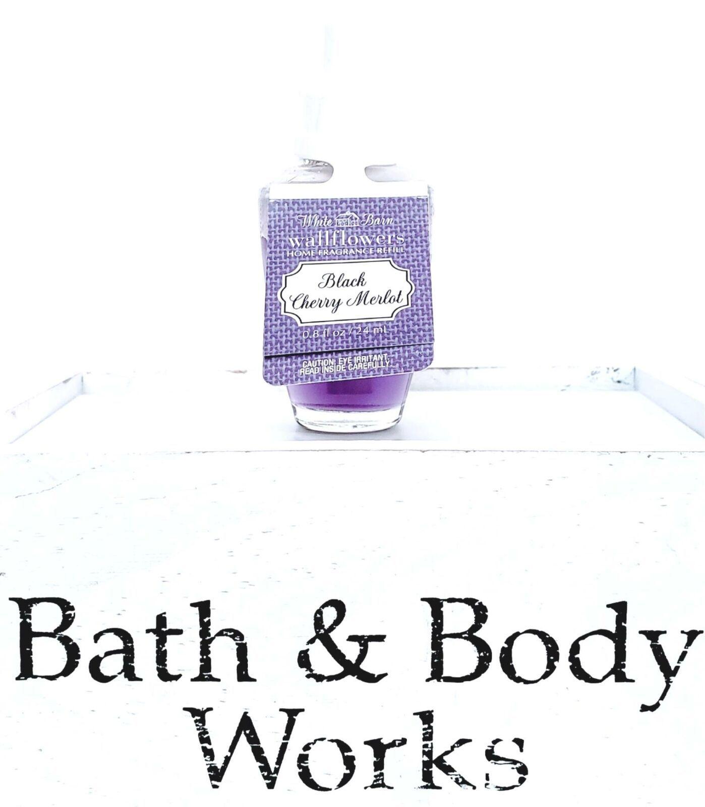 Bath & Body Works Black Cherry Merlot Hand Soap, Pocketbac & Wallflower Refill