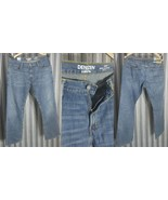 New Levis Denizen Mens Riveted Strength 285 Relaxed Fit 32 X 32 Straight... - $29.39