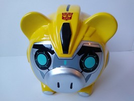 F-A-B Starpoint BUMBLEBEE Transformers Ceramic Piggy/Coin Bank WITH PLUG... - $29.95