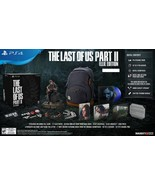 The Last of us Part II 2 ELLIE EDITION PS4 Playstation 4 + Backpack Viny... - $899.98