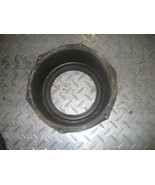 SUZUKI 2002 EIGER 400 4X4  REAR BRAKE DRUM DUST COVER  (BIN 142)  P-8716... - $20.00