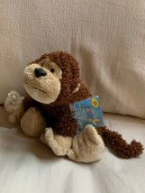"Ganz Webkinz CHEEKY MONKEY 7"" Plush Stuffed Zoo Animal Used Nice Condition - $14.03"