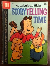 MARGE'S LITTLE LULU & ALVIN STORYTELLING TIME #1 (1959) Dell Giant Comic... - $19.79
