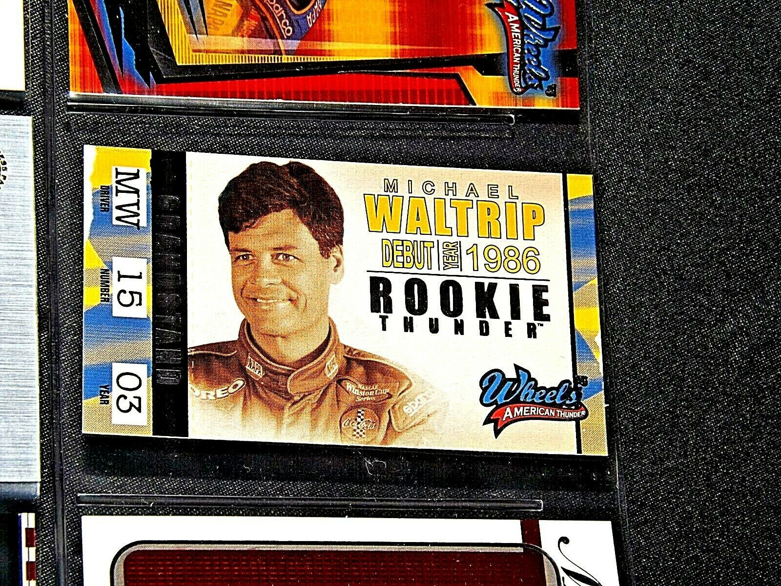 NASCAR Trading Cards - Michael Waltrip AA19-NC8074