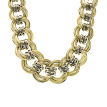 14K Yellow Gold 16 Inch Choker Made In Italy 73 Grams - $4,850.01