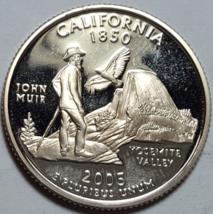 2005-S Proof California States Quarters Deep Cameo Brilliant Uncirculate... - $6.95