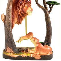 Africa Safari Lion Pride Big Cat Pendulum Mantle Desk Shelf Quartz Clock image 3