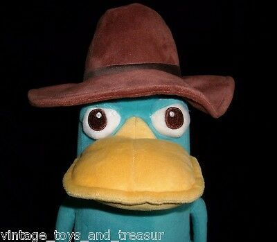 "15"" DISNEY PERRY SECRET AGENT PLATYPUS PHINEAS & FERB STUFFED ANIMAL PLUSH TOY image 2"