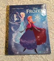 Disney Frozen Board Book Sisters Princess Anna Elsa Little Golden Book Olaf Snow - $5.99