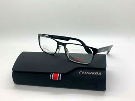 Carrera CA59 65Z Black 49-16-125MM Stainless Steel Eyeglasses Case+Cloth Kids - $43.62