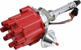 Pro Series R2R Tach Drive Distributor Corvette SBC BBC 327 350 396 427 454 Red image 2
