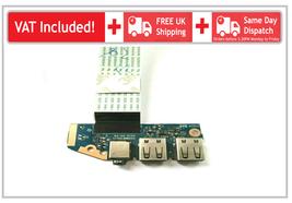 HP 440 455 450 470 G2 USB Audio Headphone I/O Board Ribbon Flex Cable LS-B183P - $16.09