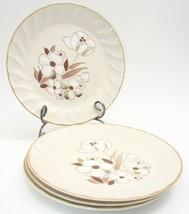 EUC Vintage Felicity Sculptura Hearthside Stoneware  4 Dinner Plates 10 3/4in - $21.31