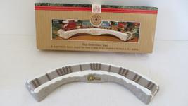 Christmas Hallmark Keepsake 1991 Train Trestle Ornament  - $4.99