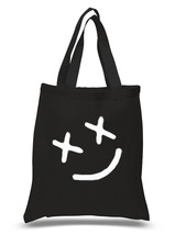 """Louis Tomlinson """"Smiley Face"""" Tattoo 100% Cotton Tote Bag - $15.16 CAD"""