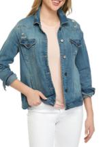 NWT DEMOCRACY BLUE DENIM WOMEN JACKET SIZE XL $78 - $34.49