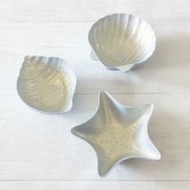 Better Homes  Gardens Outdoor Melamine Coral Reef Figural Dip Bowls, Set... - £14.84 GBP