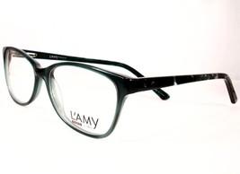 LAMY Paris Adelle Green C03 Women Eyeglasses plastic Metal 52-15-130  Frames - $72.24