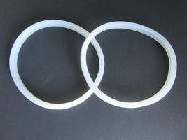 TWO PACK Rubber Gasket Seal for Manual Sausage Stuffer 3,5,7,11 lb liter - $15.44