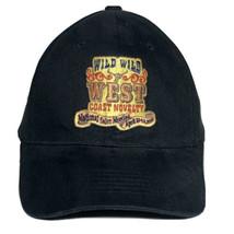 Wild Wild West Coast Novelty National Sales Convention Black Strapback Hat - $11.95