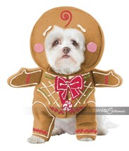 California Costumes Gingerbread Pup Dog Holiday Christmas Xmas Costume P... - $20.49