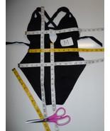Becca Color Code Split Straps Cutout Back One Piece Swimsuit Black M-$118 - $64.99