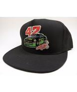 Kyle Petty Mello Yello #42 Signature Black Racing Hat Made in USA - $35.60