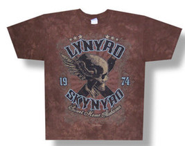 Lynyrd Skynyrd-Sweet Home Alabama-Brown Tie Dye T-shirt - $19.99