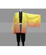 Customize Kimetsu no Yaiba Zenitsu Agatsuma Cosplay Costume Outfit for Sale - $122.00