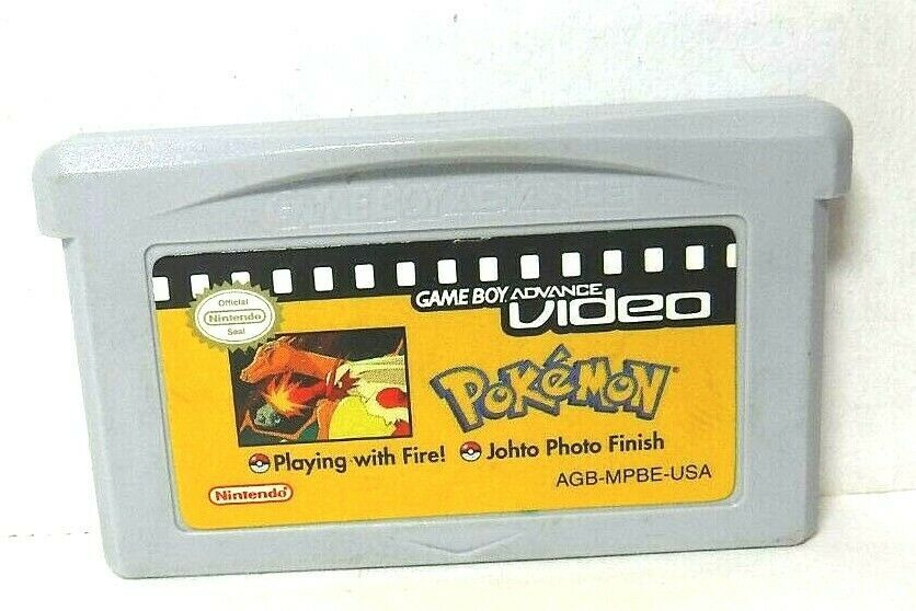 Pokemon Game Boy Advance Video Playing with FIre! Johto Photo Finish Game Only