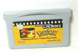 Pokemon Game Boy Advance Video Playing with FIre! Johto Photo Finish Gam... - $8.79