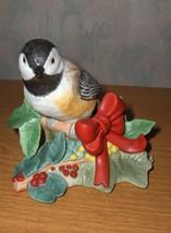 Lenox China Christmas Chickadee Figurine Bird 2009 NIB - $45.00
