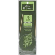 Clover Bamboo Circular Knitting Needles Takumi, 24-Inch Size 0 - $7.81
