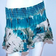 GUESS JEANS Mini RUFFLED SKIRT 100% Cotton XS FREE SHIPPING - $19.97