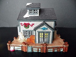 """Lemax Plymouth Corners collection """"Ol's Fisherman's Shack"""" EUC - $9.85"""