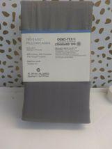 Nate Berkus (KING)-500 TC Tri Ease Herringbone Pillowcase Set Project 62 GREY  image 9