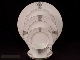 Vera Wang China Imperial Scroll 5 Pc Place Dining Set - $99.00
