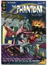 THE PHANTOM #8 1964-GOLD KEY COMIC-LEE FALK-DEATH ISSUE VF - $78.81