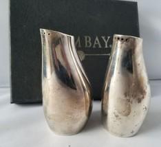 The Bombay Company Sterling Silver 380 Butterfly Salt & Pepper Shaker Se... - $49.49