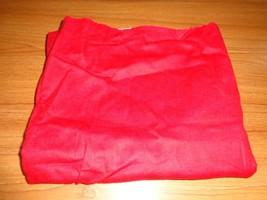"""Flannel 35"""" Red Swirl (Read Description) - $6.58"""