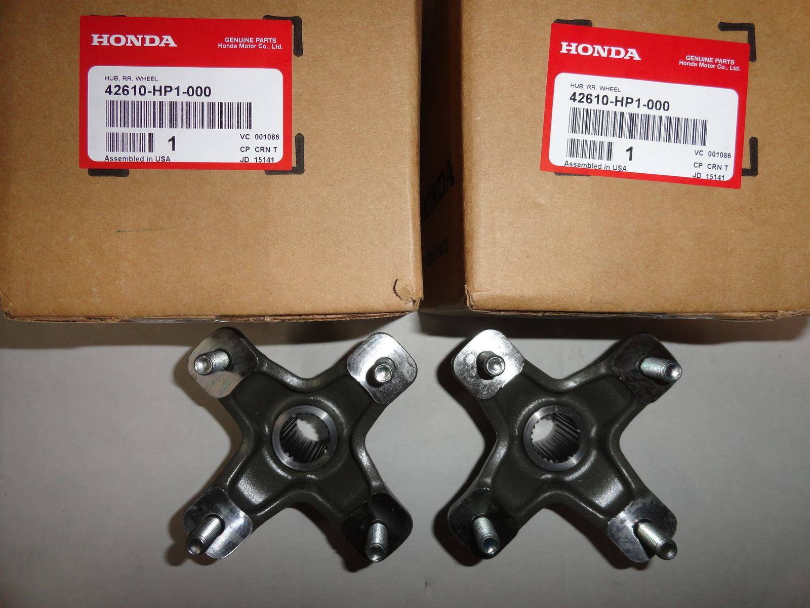Modquad Double Locking Axle Nut Black for Honda TRX 400EX 450R