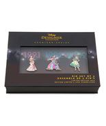 Disney Princess Pin Set Disney Designer Coll. Belle, Jasmine, Tiana - $69.99