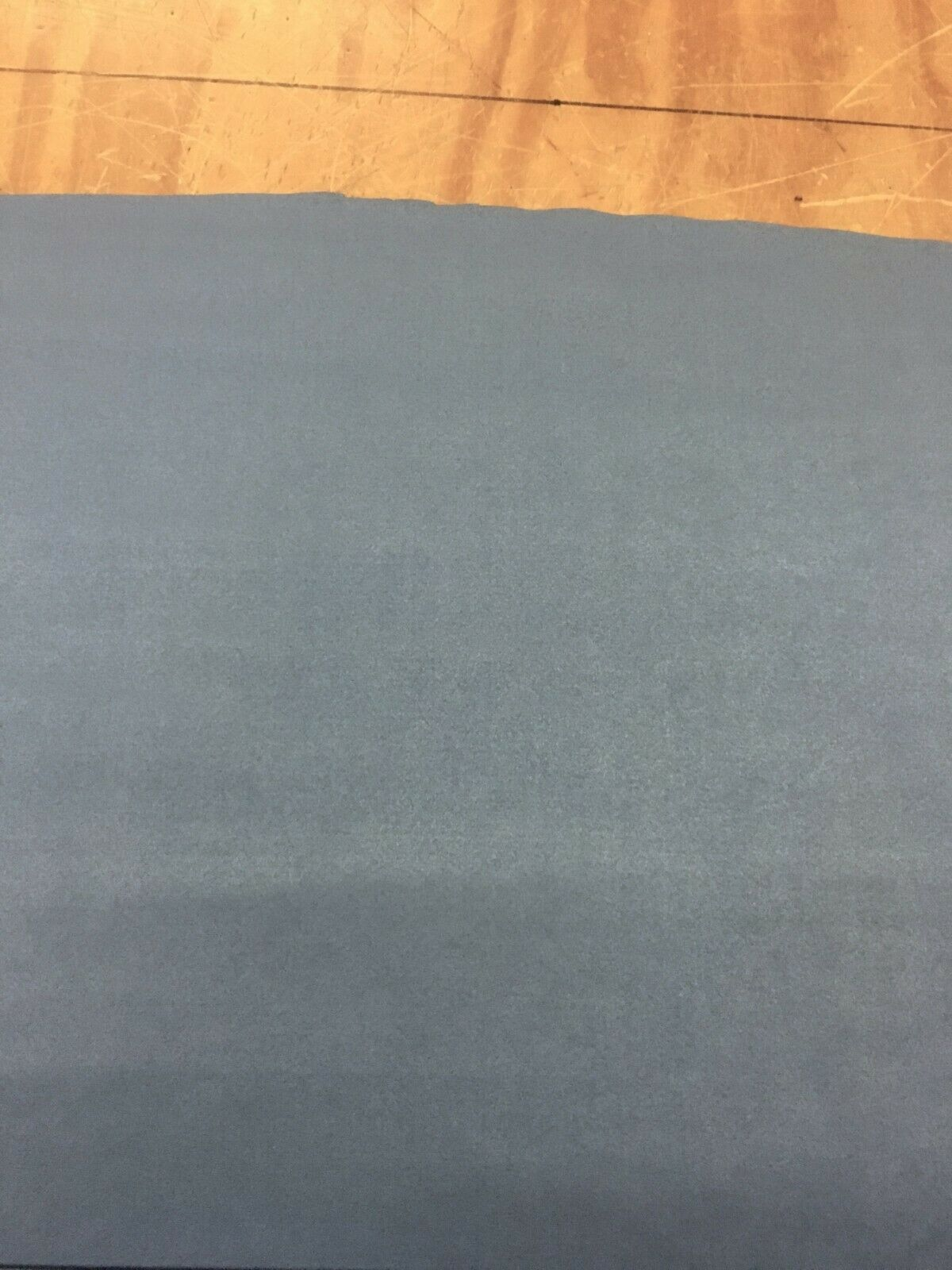 Light Blue Faux Suede Upholstery Fabric 5.625 yards NQ