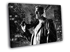 Sin City Bruce Willis Mickey Rourke 20x16 FRAMED CANVAS Print - $19.95