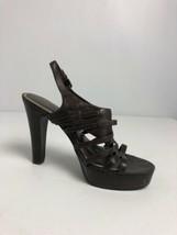 Lauren Ralph Lauren Dark Brown Slingback Heels Size 8M - $16.14