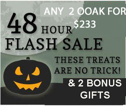 FRI -SUN ONLY!  SPECIAL ANY OOAK FLASH SALE PICK 2 FOR $233 DEAL! OCT 16 -18TH - $466.00