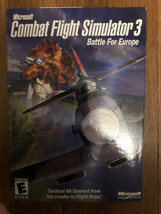 Microsoft Combat Flight Simulator 3: Battle for Europe (PC, 2002) - $19.79