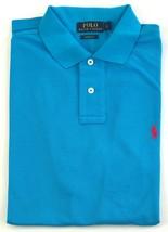 Ralph Lauren Mens Polo Shirt Classic Fit Size Small Light Blue - $67.52